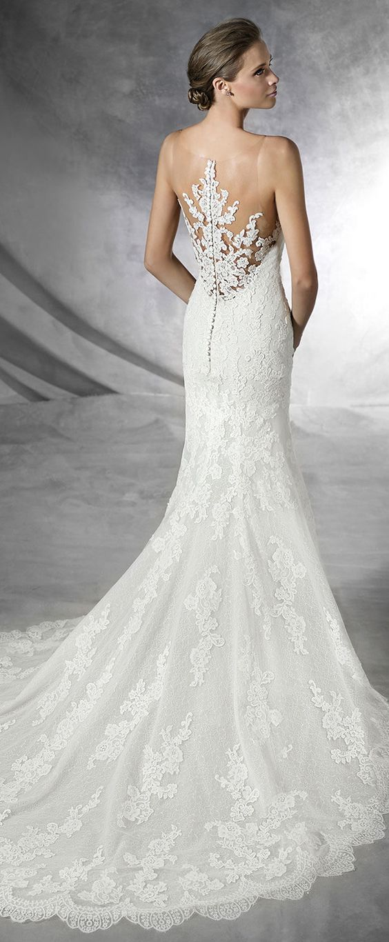 Pronovias 2016 bridal collection part 1 loft belle for The loft wedding dresses