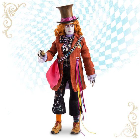 Alice im Wunderland: Hinter den Spiegeln - Der verrückte Hutmacher Puppe