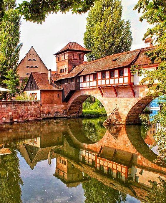 Nuremberg, uma das cidades mais charmosas da Alemanha