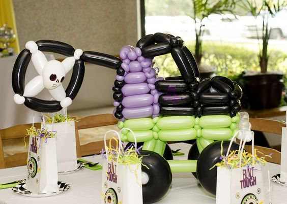 Monster Truck Birthday Party Ideas | Photo 1 of 56