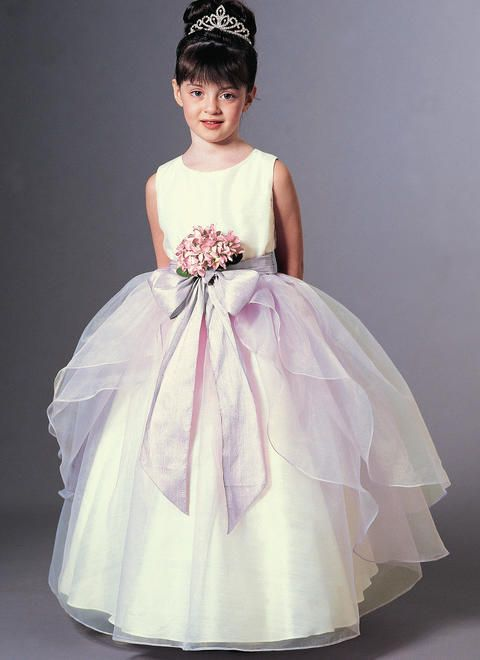 Flower Girl Wedding Naomi Blu High Neck Flower Girl Tutu Dress in Pink with Lace Trim