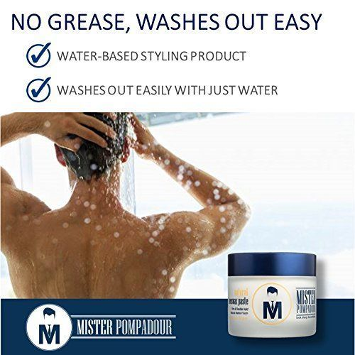 Mister Pompadour Natural Beeswax Paste Men Hair Styling 2 Oz For All Hair Type Natural Beeswax Mens Hairstyles Health And Beauty Shop