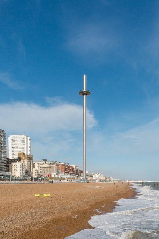 La torre de observación más alta y esbelta del mundo alcanza su altura máxima  © British Airways i360