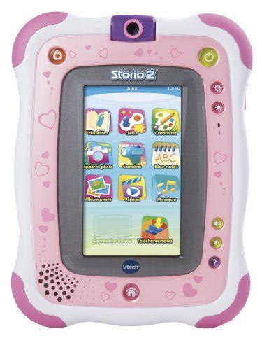 Vtech - 136855 - Jeu Électronique - Tablette Storio 2 Rose + Appareil Photo Intégré