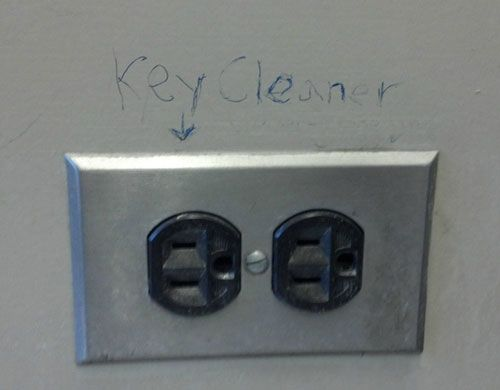 key cleaner