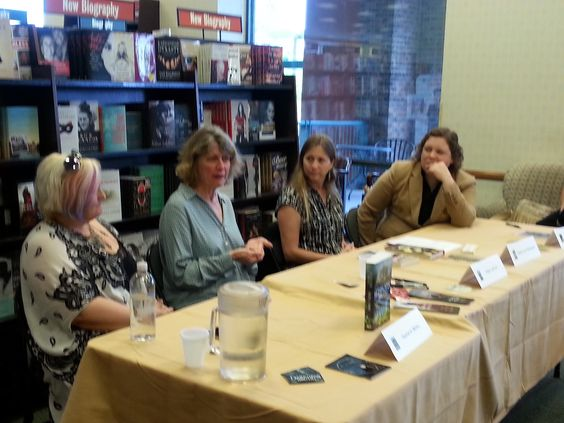 L. Palmer True Bride and the Shoemaker signing: