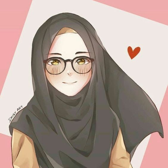 Gambar Kartun Muslimah Gambar Orang Memakai Hijab Ideku Unik