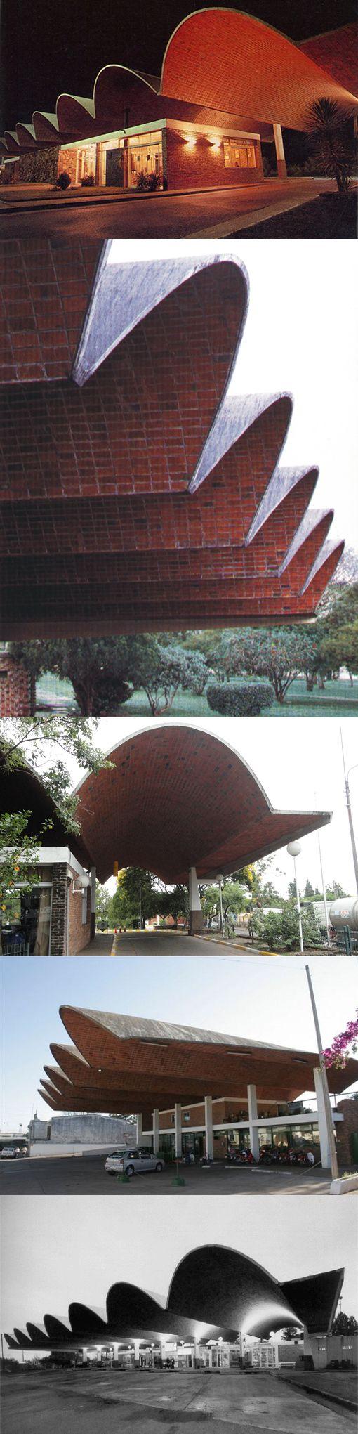 1974 Eladio Dieste (1917-2000) - Salto Bus Terminal / Uruquay / brick