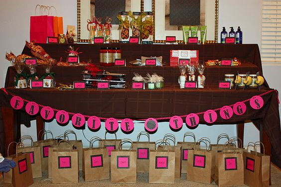 A Favorite Things Party with all your  girlfriends! This would be so FUN!