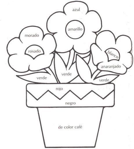 Fichas infantiles de los colores para ni os descargar for Actividades con cartulina para ninos