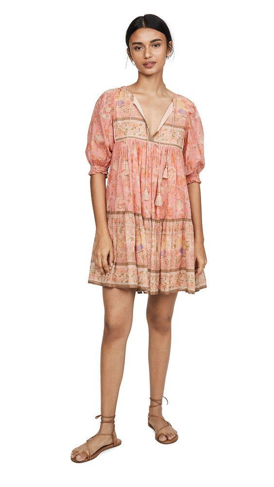 Spell Seashell Boho Mini Dress