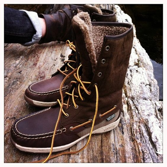 Eastland Women's Hi Tide Boat Shoe Boot #eastlandshoe #maine | New ...