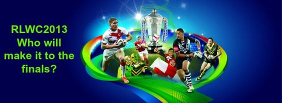 This weekend the Rugby League World Cup kicks off ... who do you think will make it to the finals? Check out our predictions on the blog... -  For the best rugby gear check out http://alwaysrugby.com