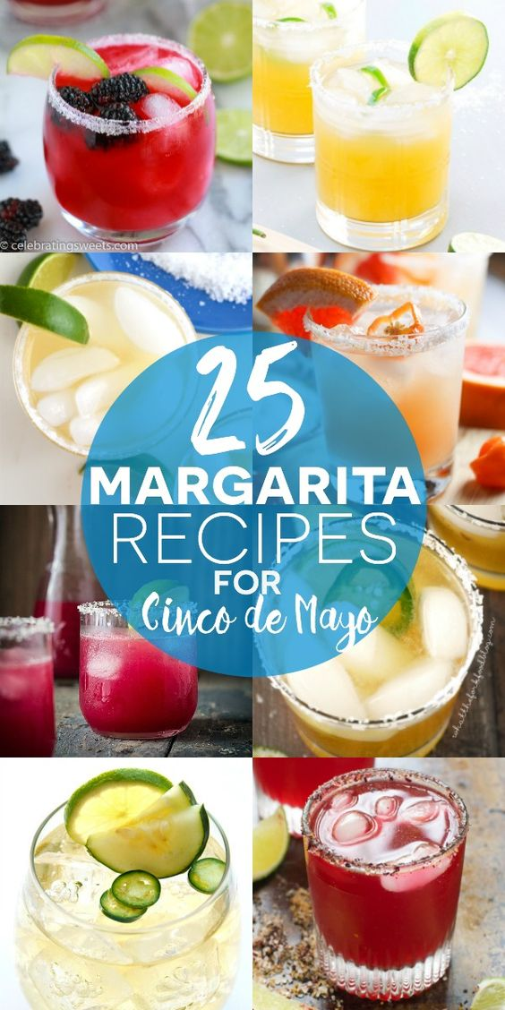 25 Margarita Recipes for Cinco de Mayo on What The Fork Food Blog…