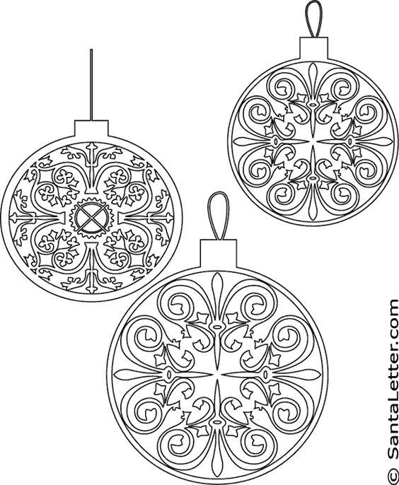 Noel dessin de coloriage imprimer christmas pinterest d corations coloration et rouleaux - Dessin deco noel ...