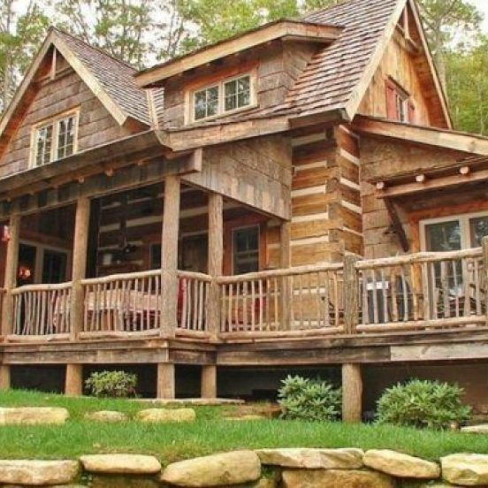 Magnificent Concepts To Make Your Dream Log Cabin In The Mountains Or Next To A Creek A Peaceful Environme Log Cabin Rustic Log Cabin Exterior Log Cabin Homes