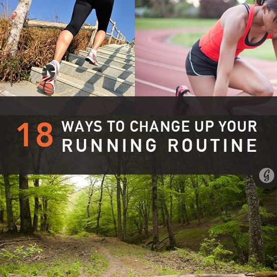 18 Ways to Change Up Your Running Routine. no matter how much you're in love with running, it takes a little effort to keep the relationship fresh. These tips can be modified for runners of any fitness and experience levels. #RunningSchedule #RunningHabits