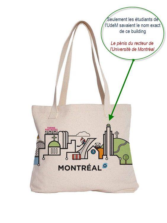 Saccoche de Montréal