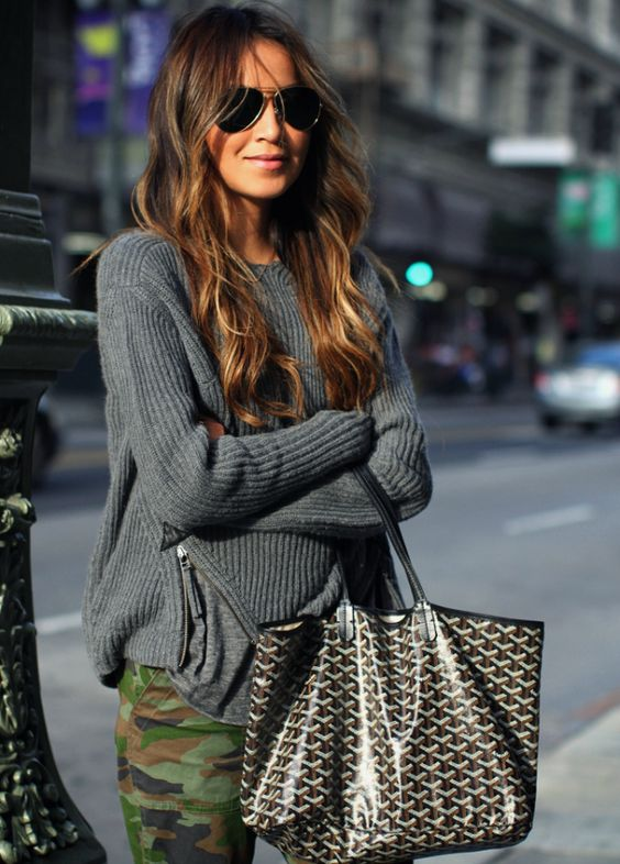 12 Chic Ways to Wear Gray This Fall | Brit + Co