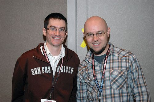 Bryan Konietzko and Mike Dimartino, creators of Avatar: The Last Airbender and The Legend of Korra. I (@vwlphb) want to talk to them about their world building and plotting, and how integral the balance of humor and drama is in their show.