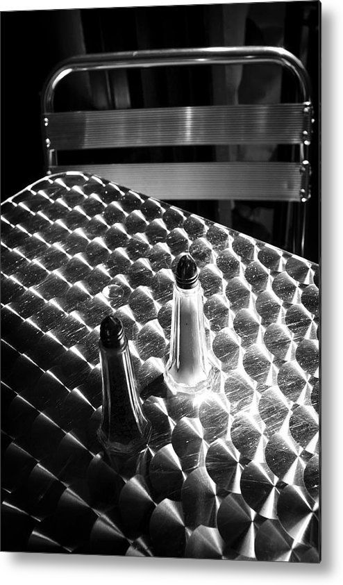 Salt and pepper metal print by dave beckerman all metal prints are professionally printed packaged and shipped within 3 4 business days and delivered