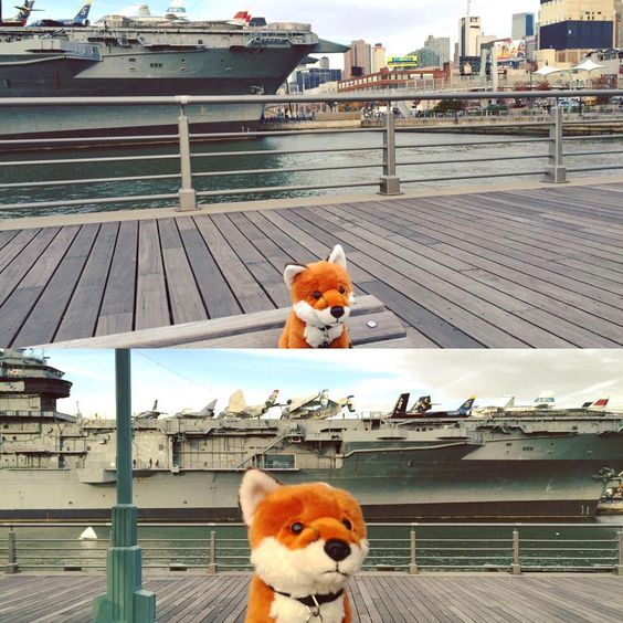 #AdmissionsVixen Rose paid a visit to the USS Intrepid while she was in New York! To everyone who has fought for our country in the past, continues to fight in the present, and will fight in the future, the #SweetBriarCollege Admissions Team would like to extend our deepest gratitude.