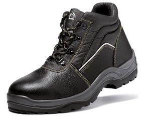 Botas De Seguridad Punta De Acero Bata Modelo Warrior Zapatos De Seguridad Estilo De Botas Para Hombre Calzado De Seguridad