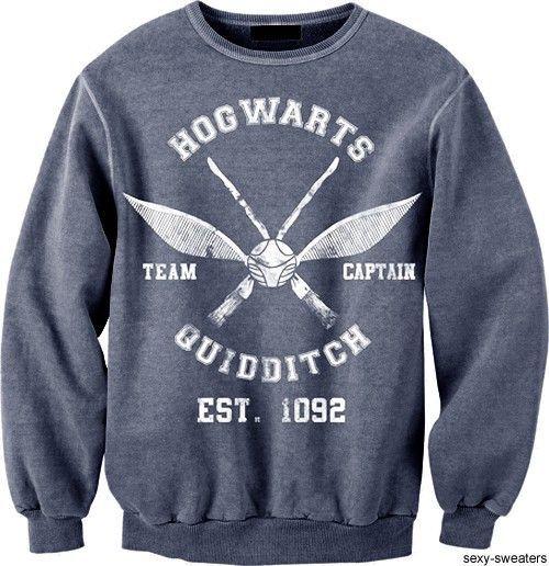 quidditch sweatshirt!