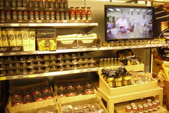 Cross merchandising with cookery video demonstration - Tesco Finest
