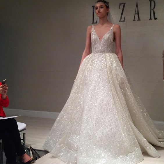 Lazaro Wedding Ball Gowns: New York Bridal Fashion Week Show Fall 2016 New Collection