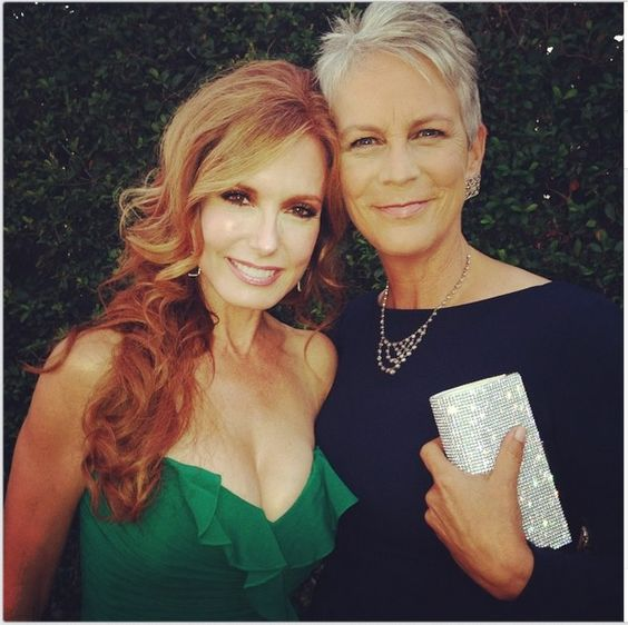 Tracey & Jaime Lee Curtis