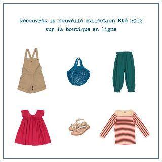 La nouvelle collection Été 2012 est en ligne !!!  bonton