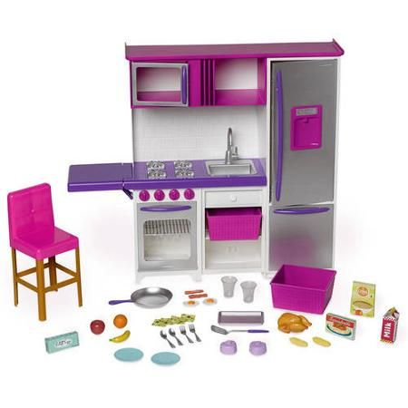 My Life As Doll Kitchenette With Large Refrigerator