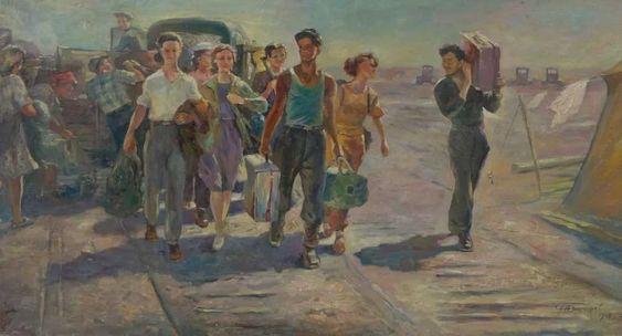 На целину, 1968г. - Гончаров Григорий Андреевич