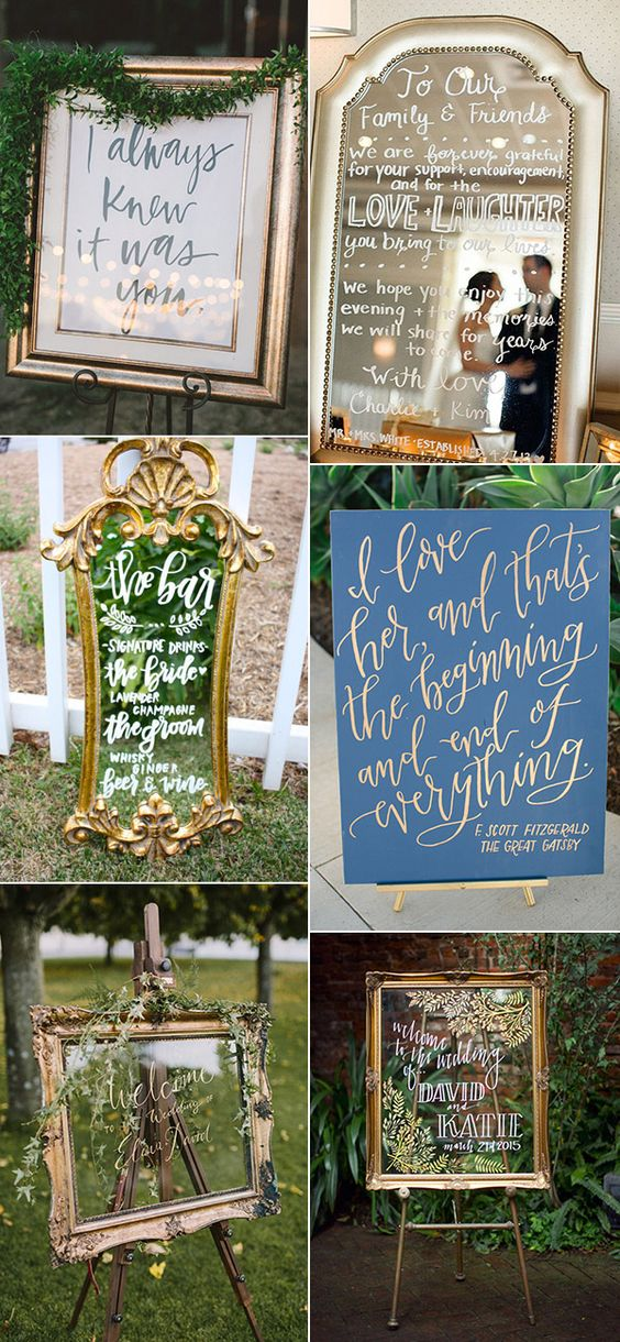 Everyone deserves a perfect wedding, including every detailed part. These important parts combine into your special big day, and they do say something about you as a couple. Today we're talking about one of those detailed parts-wedding signs. As you may know there're thousand kinds of signs with thousand kinds of texts but express theRead more