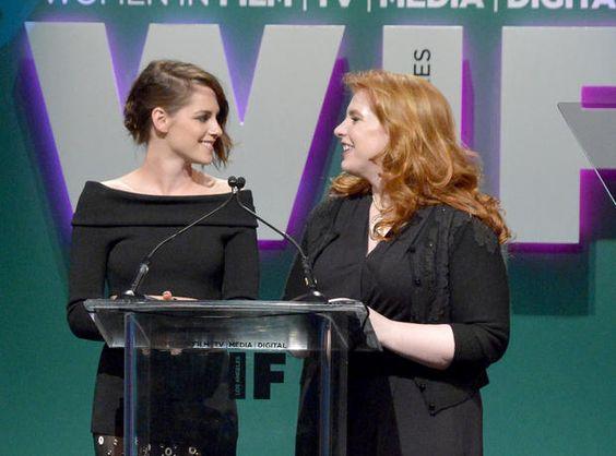 Kristen Stewart and Stephenie Meyer