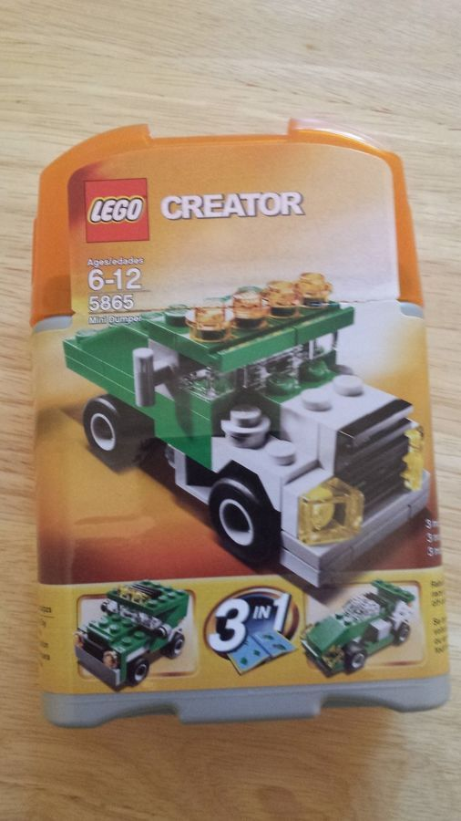 Lego Creator 5865 Mini Dumper 3 In 1 Complete Set Instructions Case Mini Dumper Lego Lego Creator Mini Ebay