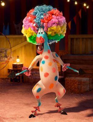 Da da dadadadadada Circus, Da da dadadadadada Afro Circus, Afro Circus, Afro, Polka Dot, Polka Dot, Polka Dot, AFRO!