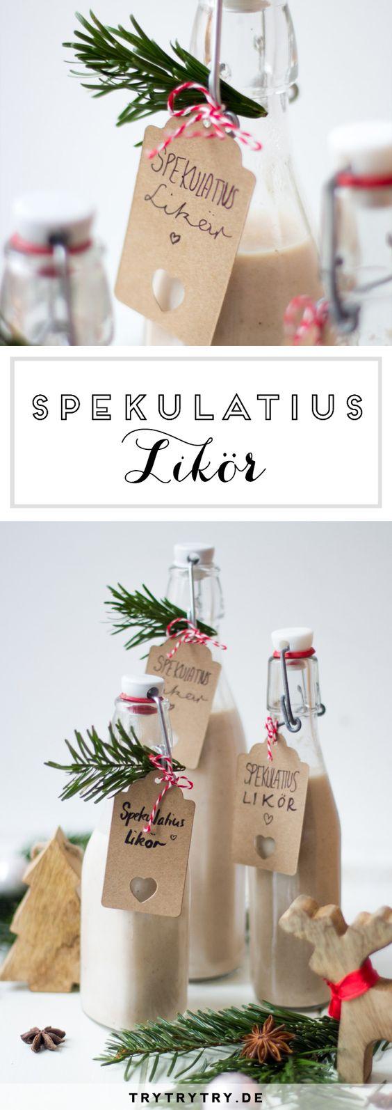 Spekulatiuslikör - Eine schöne Geschenkidee zu Weihnachten