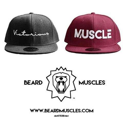 Get YOUR Official Beardmuscles Snapback before the stocks run out!🔥 4…