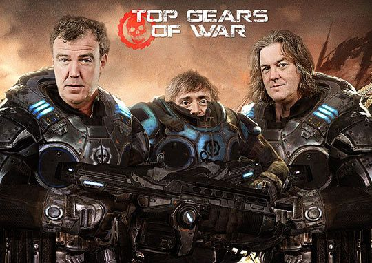 Top Gears of War. I love how they made Hammond so small...