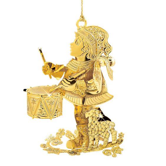 Danbury Mint Little Drummer Boy Ornament