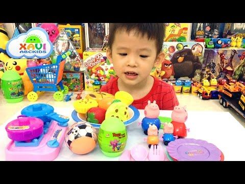 Peppa Pig Family Toys Going Picnic Cutting Vegetables Cooking Toys Openi...