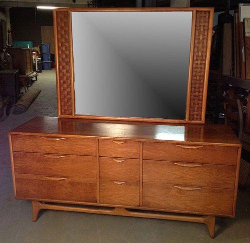 Best Vintage Lane Perception Walnut Mid Century Modern Dresser 400 x 300