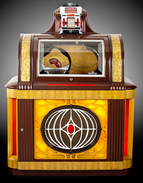 1946 packard pla mor manhattan jukeboxes good old. Black Bedroom Furniture Sets. Home Design Ideas