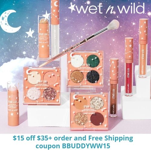 Wet N Wild Coupon 15 Off 35 Order Free Gift Free Shipping Wet N Wild Wet Beauty Brand