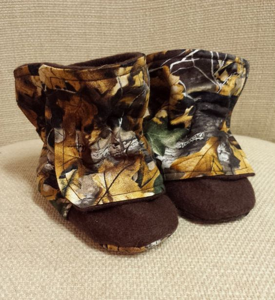 Camo Baby Booties Infant Winter Boots Newborn Boy By Toastytoesies 20 00 Tucker Alan