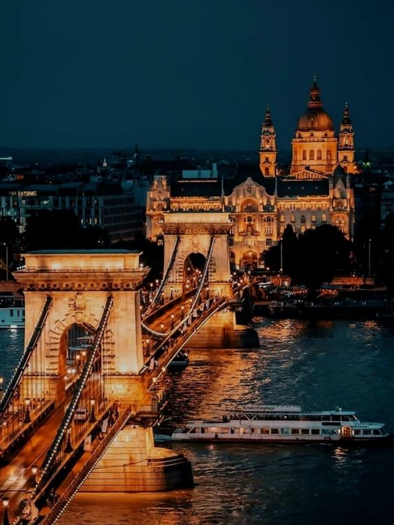 Budapest Nights, Hungary #photography #culture #vacation