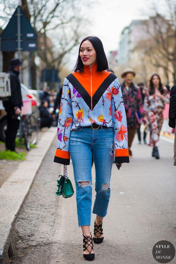 Tiffany Hsu Street Style Street Fashion Streetsnaps by STYLEDUMONDE
