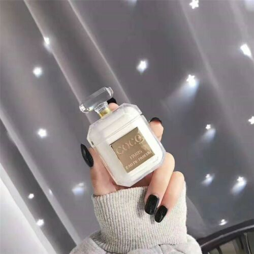 New Luxury Coco Crystal Perfume Apple Airpods Protective Transparent Case Cover Ebay Iphone Accessories Airpod Case Apple Airpods 2